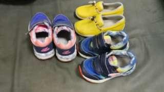 小童鞋prada 是全新 另兩對 Dr Kong 七成新