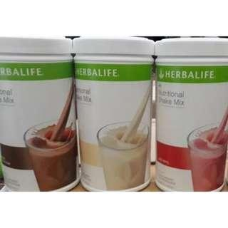 herbalife susu shake f1 nutrition nutrisi meal replacement diet