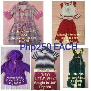 PL & BN Girls' Clothes