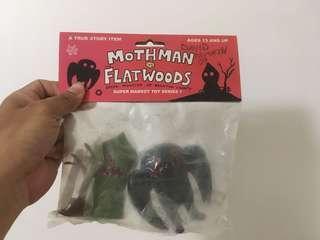 Mothman vs flatwoods uglydoll David horvath