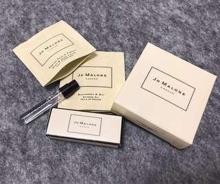Jo Malone London 香水及沐浴潤膚試用庄香水