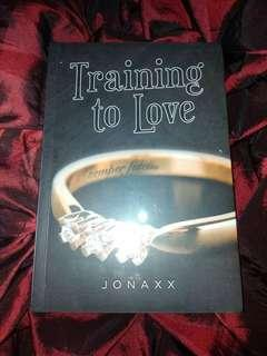 Jonaxx book- Training To Love