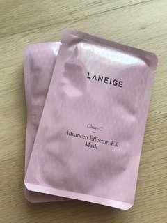 Laneige Advanced Effector_EX Mask 6片