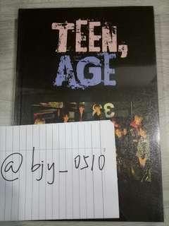 WTS seventeen Teen age album rs version