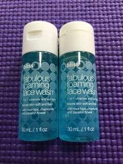 🚚 Bliss Foaming Face Wash