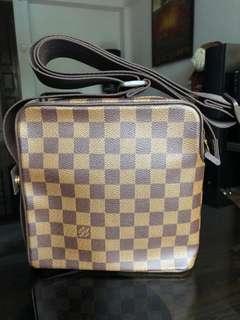 Authentic Louis Vuitton Olav PM Damier Ebene N41442