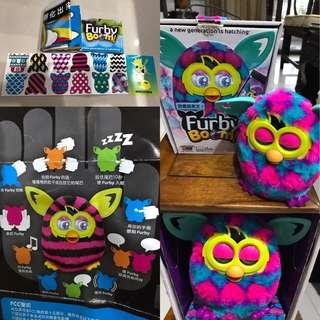 菲比小精靈 菲比精靈 furby 智能互動玩具