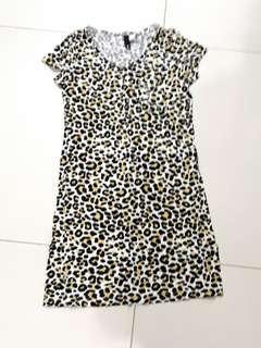 Leopard printed dress