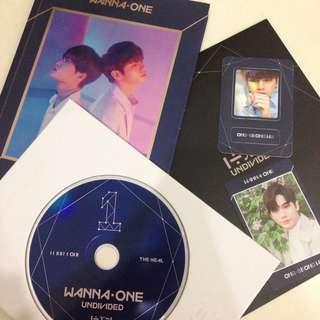Full Set Wanna One Ong SeongWu Undivided The Heal Album
