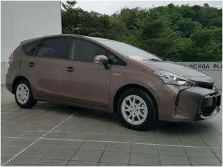 TOYOTA PRIUS ALPHA HYBRID 1.8S AT ABS AIRBAGS
