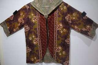 Cardigan / outer batik one size (fit to L)