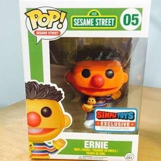 Flocked Ernie