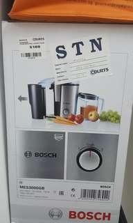 BOSCH Stainless steel fruit juicer
