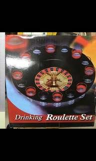 DRINKING ROULETTE WITH REAL GLASSES GAME