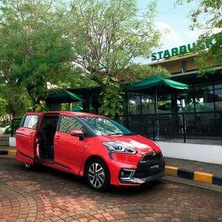 Toyota Sienta DP mulai 18 Juta