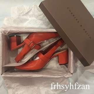 [PRELOVED] CHARLES & KEITH WOMEN SHOES 💯 AUTHENTIC