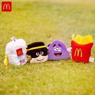 (徵收)麥當勞公仔全套