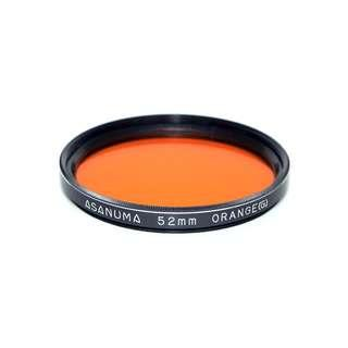 Asanuma Orange Filter (52mm) for B&W Photography