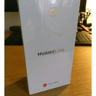 BRAND NEW SEALED HUAWEI P20 MIDNIGHT BLUE FOR SALE