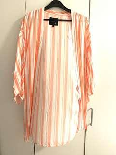 Cotton on stripes outwear / cardigan
