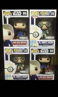 Star Wars and Back to the Future Funko Pop