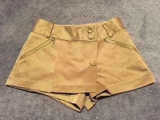 Caramel formal shorts