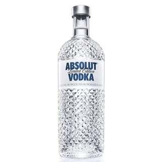 Absolut Glimmer Limited Edition Vodka