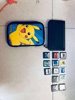 Nintendo 3DSXL with games and a case!! BUNDLE FIRM!
