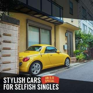 Stylish for Singles: Daihatsu Copen