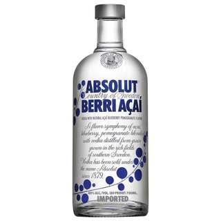 Absolut Berri Açaí Vodka