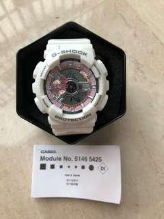 🚚 Baby G Watch Pink and Rose-gold Module No. 5146 5425