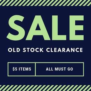 CLEARANCE - MUST GO $5 ITEMS (WILL BUNDLE)