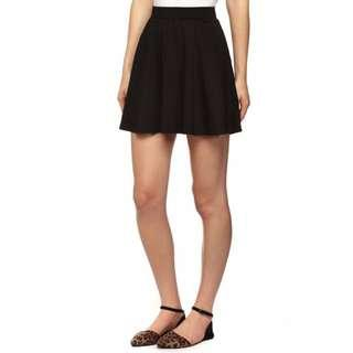 🚚 Cotton On CO Black Skater Skirt