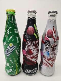 Coca Cola上海可口可樂酒吧音樂紀念樽一套三款