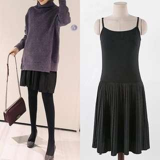 🚚 Innerwear pleated dress