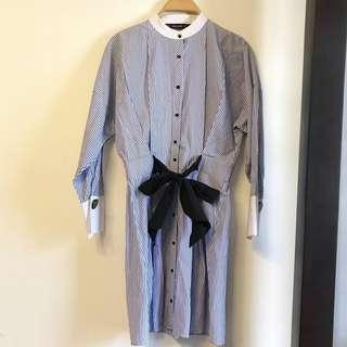 Zara dress with front bow