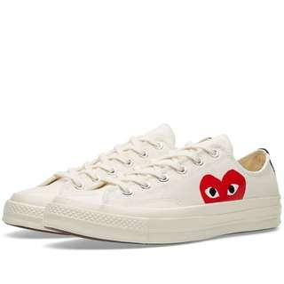 Comme des Garcons CDG Play x Converse Chuck Taylor
