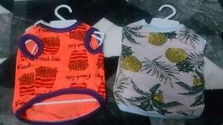 Dogs shirt /pet clothes (new)