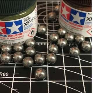 Paint Mixing Balls x50 Pcs Stainless Steel