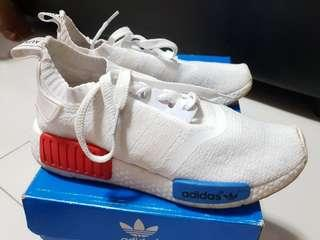 White Adidas NMD Shoes Replica