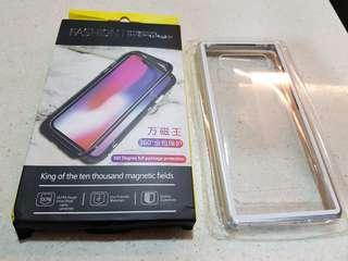 BNIB - Note 8 metal magnetic case (Silver)