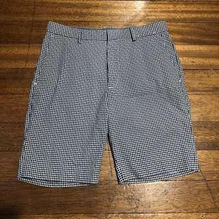 UNIQLO Checkered Shorts