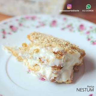 Cheesekut by aniza kek cake bake sedap cheese leleh