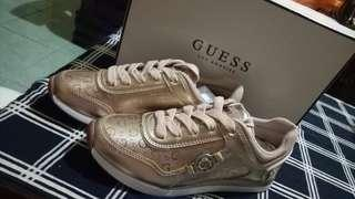 FREE SHIPPING! GUESS Rose Gold Sneakers (Size 7.5)