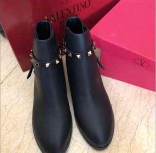 Valentino inspired black boots