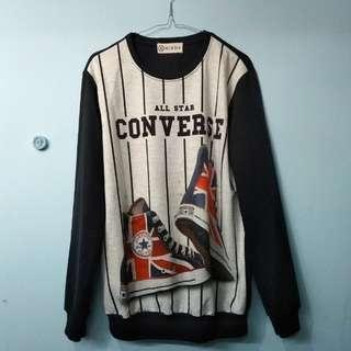 #LetGoCarousell sweater all star converse kw