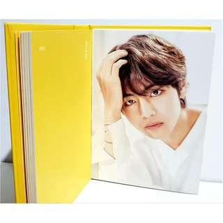 BTS Oh Always Exhibition 오,늘 Photo Book 2018 Official Goods [RARE] - V
