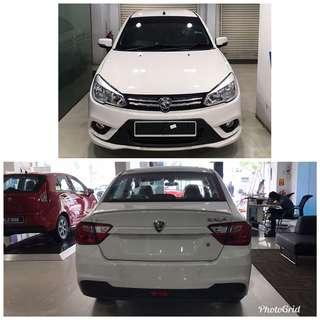 Kereta Baru! Saga VVT. Basic RM1400 boleh apply.