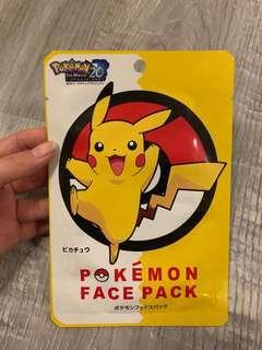 Pokémon Pikachu Face Pack