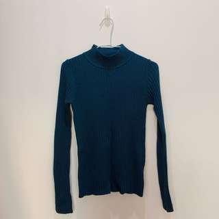 🚚 深藍色 立領 冬衣
